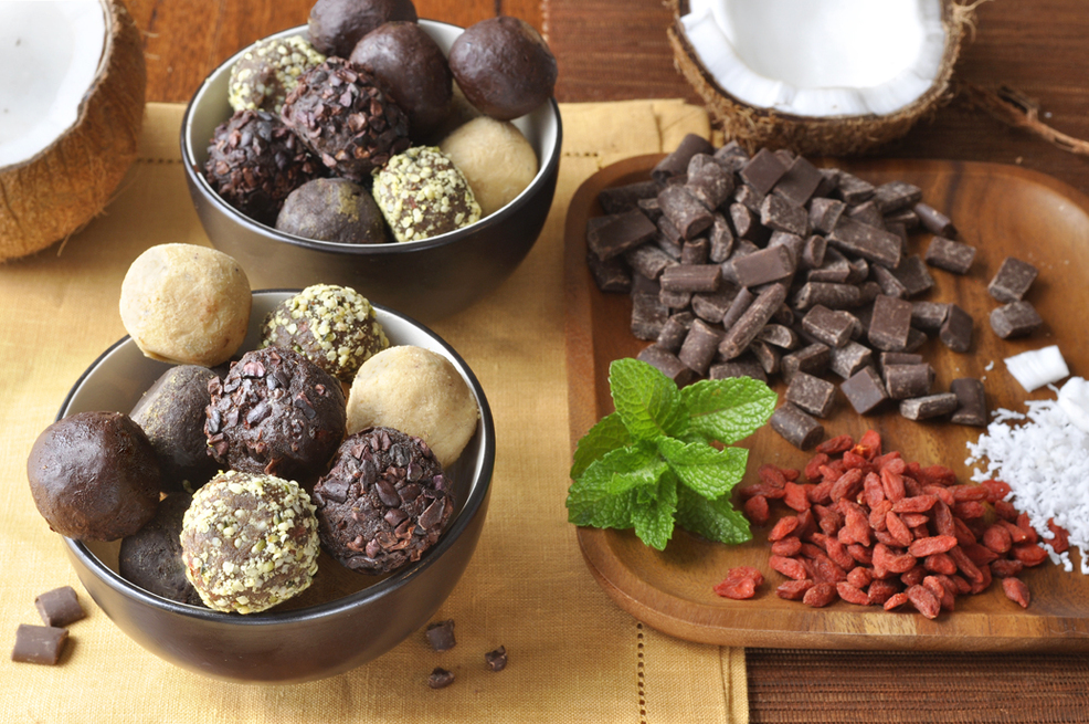 A Truffle a Day Keeps your Troubles Away: Nutrient-Dense Sweet Treats