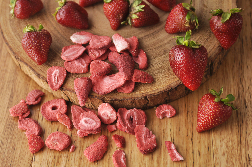 Organic Freeze Dried Strawberries