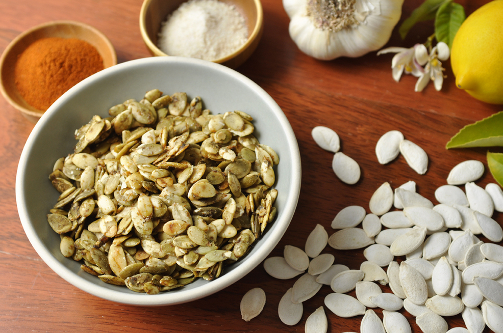 Sweet and Tangy Sprouted Pumpkin Seeds