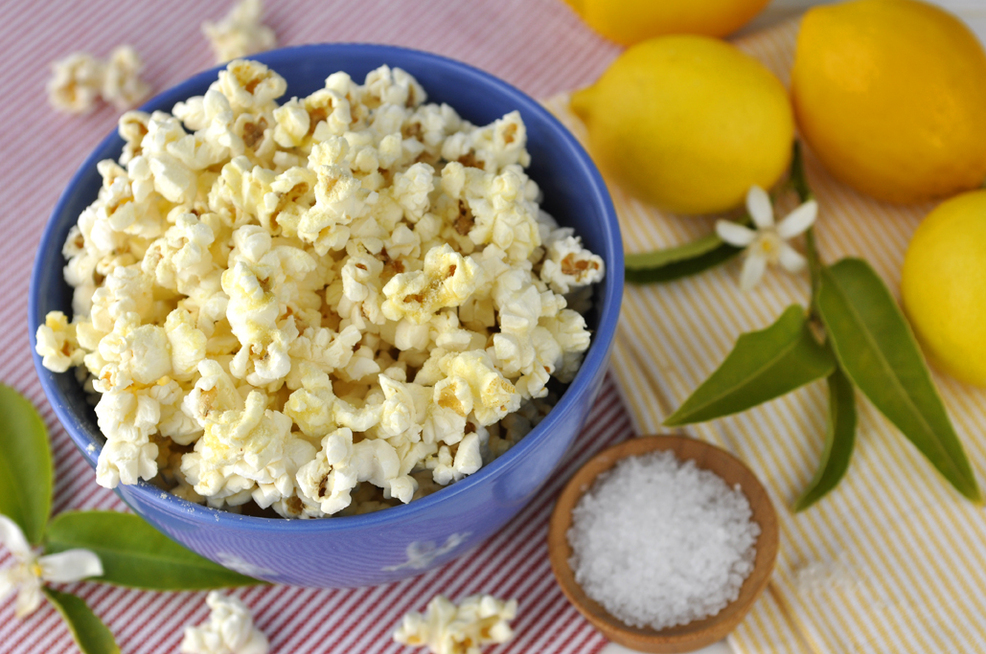 Quinn Popcorn - Lemon &amp; Sea Salt
