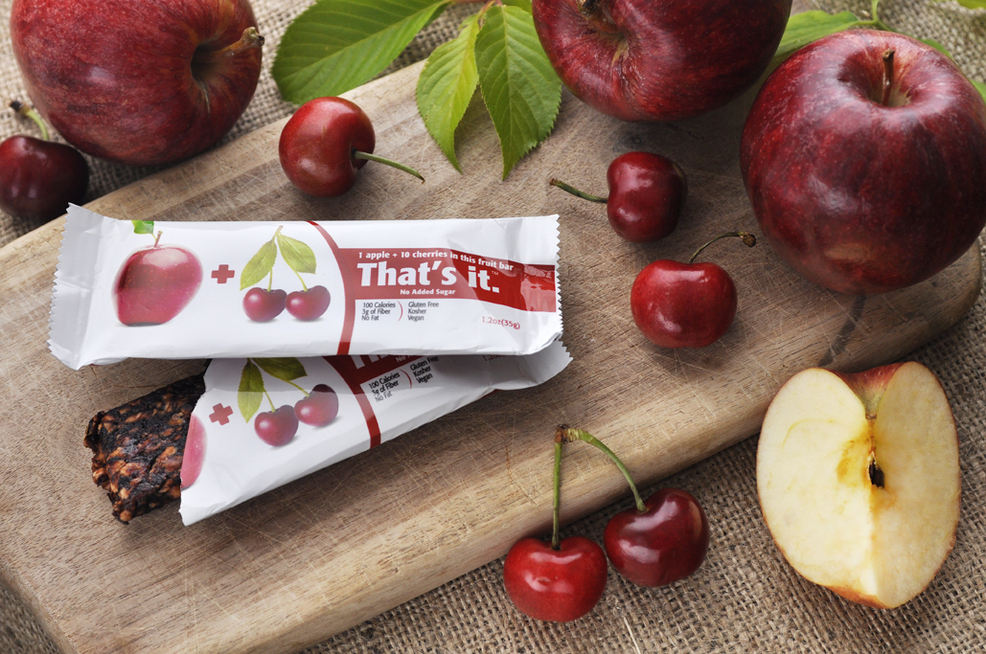 Apples + Cherries Bar