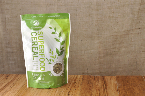Superfood Cereal: Hemp and Greens