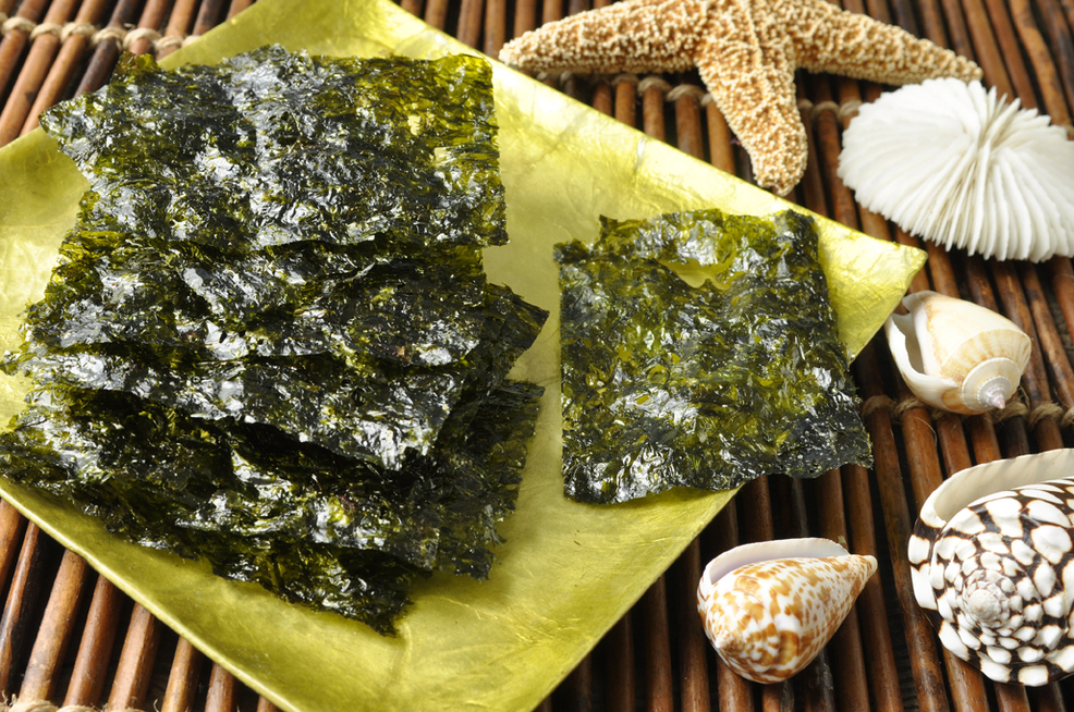 Toasty Onion Seaweed Snacks