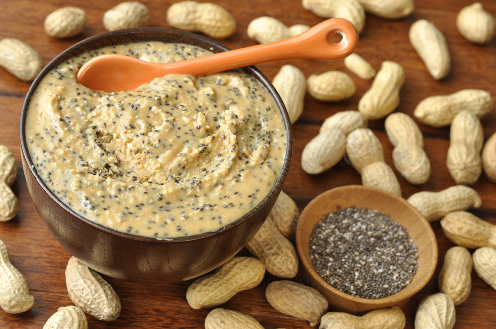 Chia Seed Peanut Butter