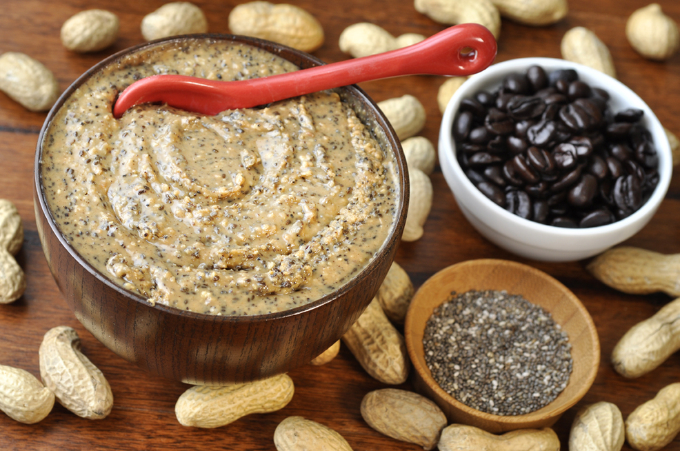 Coffee Chia Peanut Butter