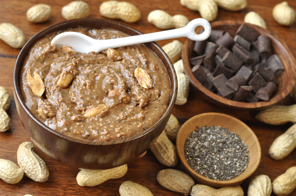 Chocolate Chia Peanut Butter