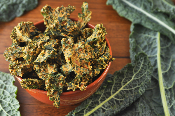 Graze On Greens: Kale Chips