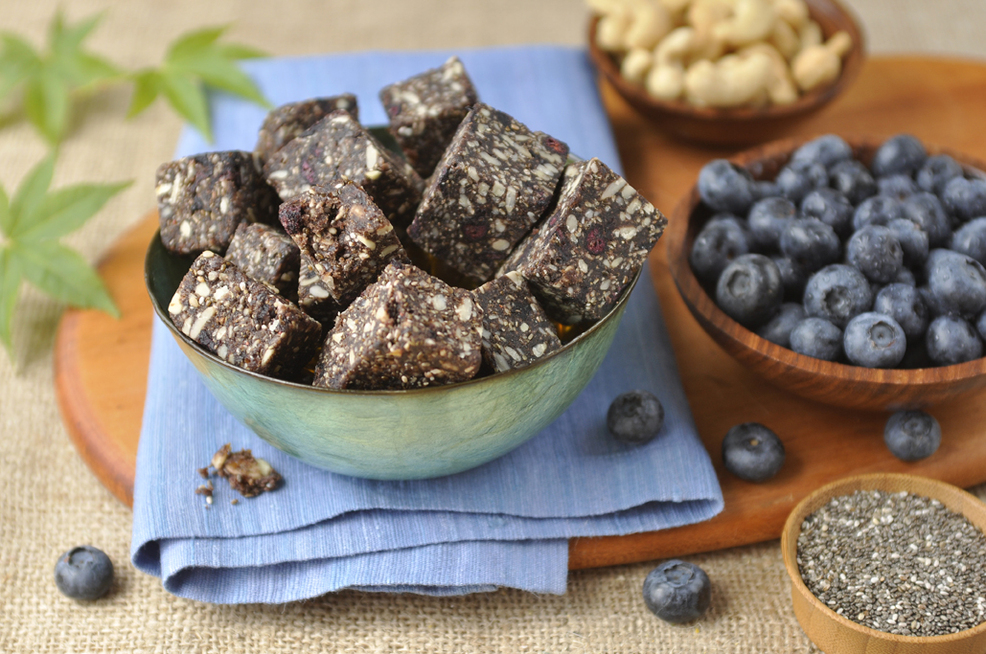 Blueberry Hemp Super Food Power Snack